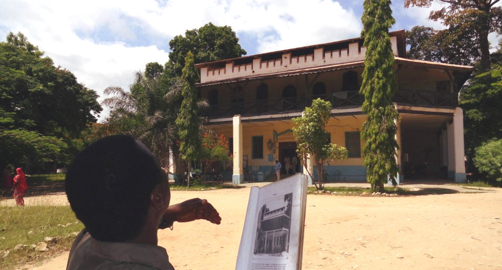 BOMA in Pagnani, the oldest building in town.